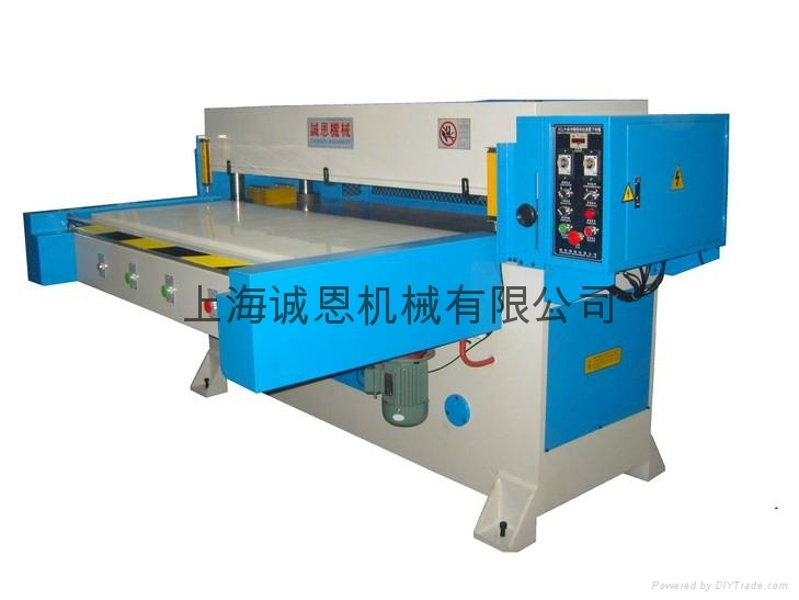 Unilateral automatic feed cutting machine
