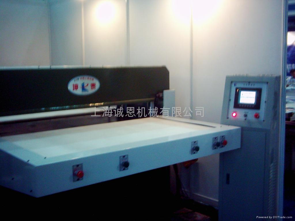 Precious hydraulic automatic balancing notching press 3