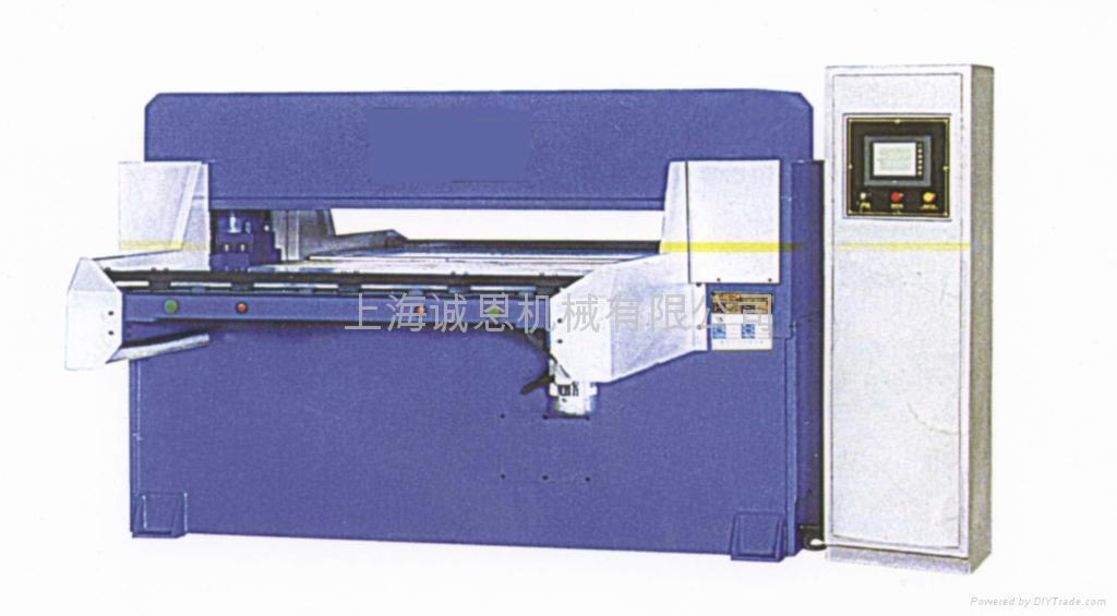 精密四柱自動平衡液壓裁斷機 1