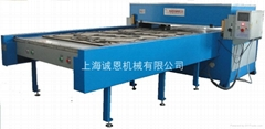 Automatic graded in a material precise