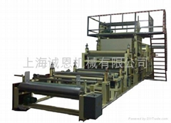 WATERPROOF PERMEABILITY FILM LAMINATING MACHINE