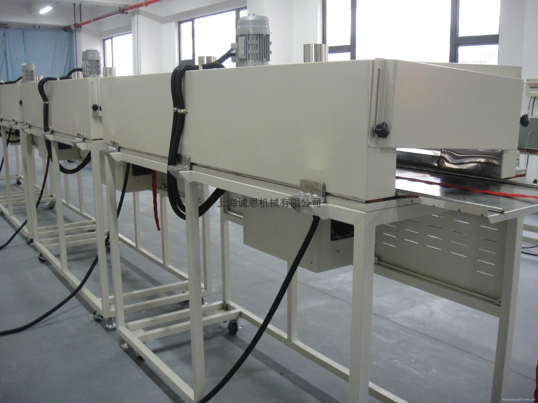 Waterproof zipper laminating machine 3