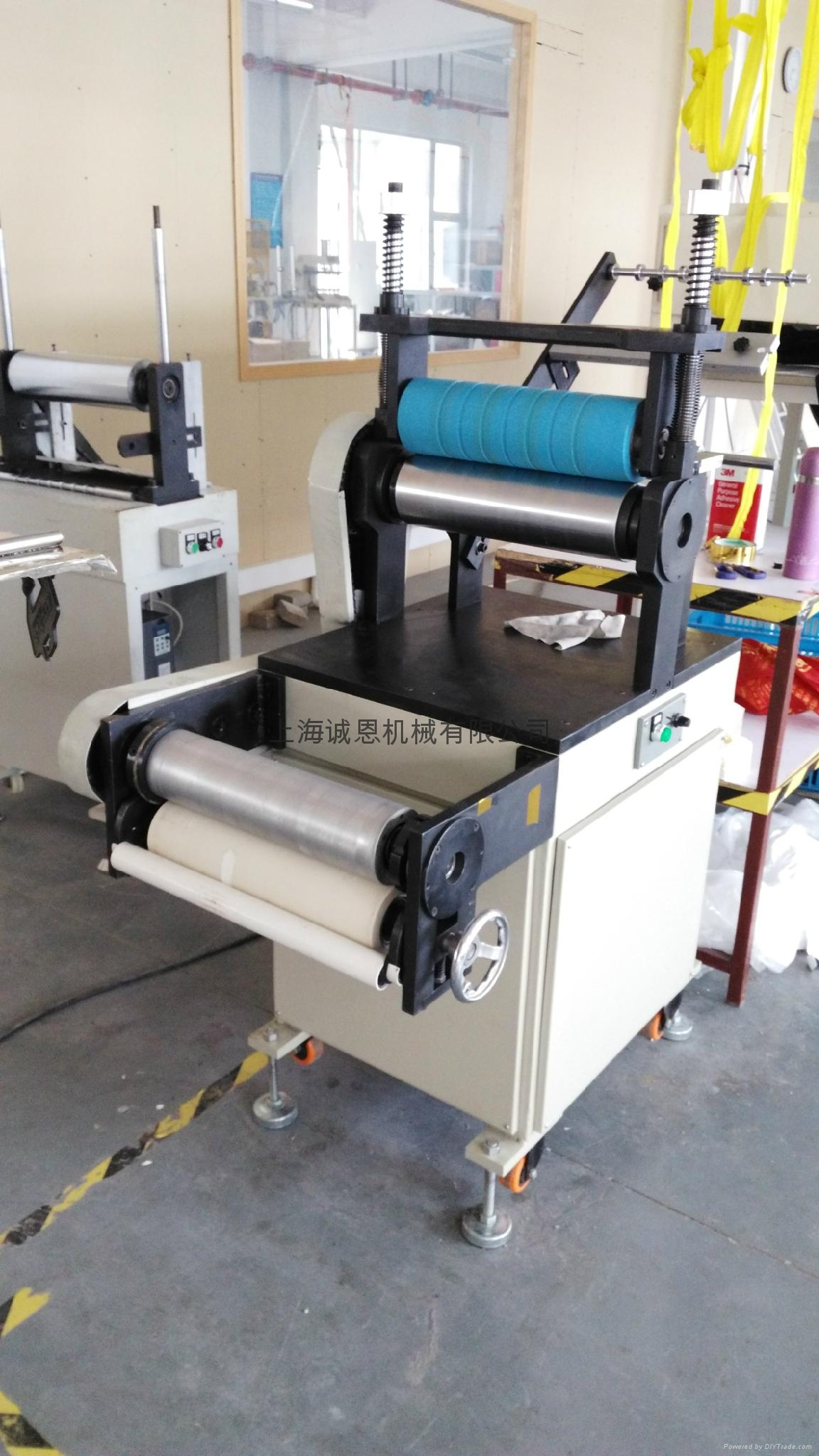 Waterproof zipper laminating machine 5