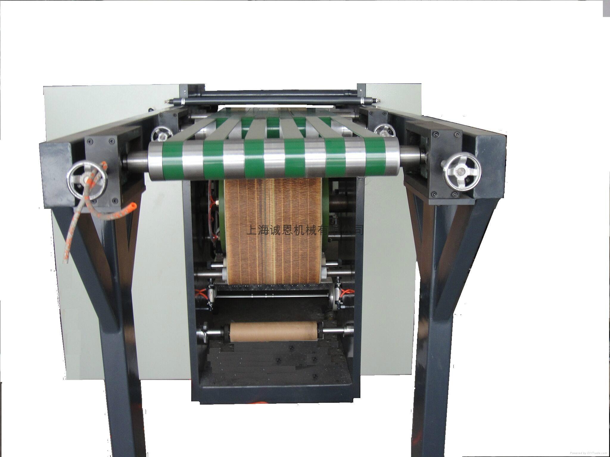 Zipper color printing machine 6