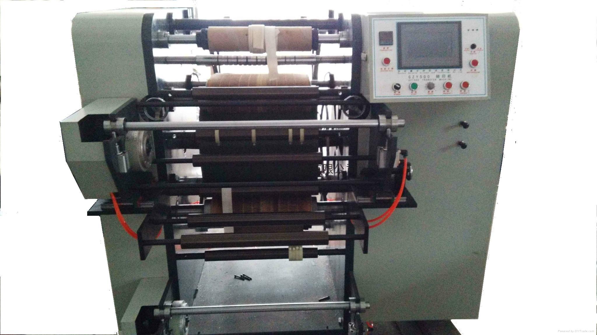 Zipper color printing machine 7