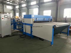 conveyor belt type automatic NC precision four-post Hydraulic Cutting Machine