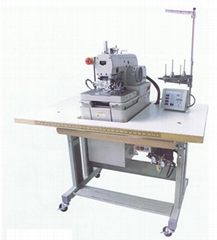 Computerized Eyelet Buttonhole Machine with Bar Tack Function
