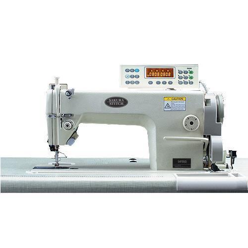 單針平縫機 三自動剪線(原裝旋梭) 伺服馬達,圓刀  1