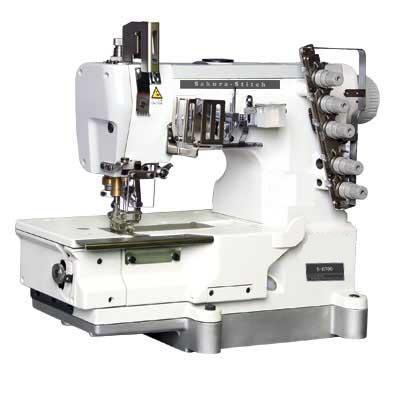 高速平板厚料繃縫機 1