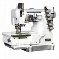 高速平板厚料绷缝机
