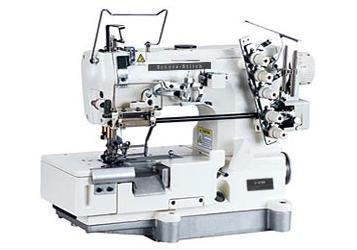 高速平板上鬆緊(蕾絲)繃縫機  1