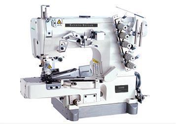 高速普及小方頭繃縫機 (帶拉筒) 1