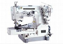 高速普及小方头绷缝机 (带拉筒)