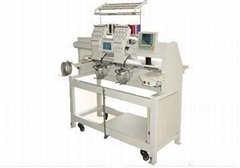 Computerized Embroidery Machine 2 Head 12 Colors