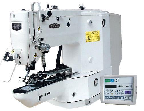 High Speed Computerized Button Stitch Machine 1