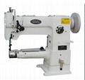 1 Needle Unison Feed Cyinder Bed Sewing