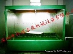 環保型水帘水洗式噴漆櫃