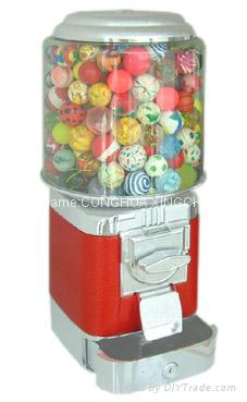 GUMBALL VENDING MACHINE WITH COIN DRAWER