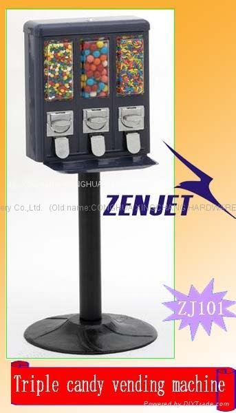 Candy triple vending mchine 1