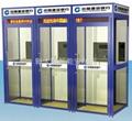 ATM智能安全防護艙E型三聯艙