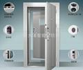 銀行防尾隨門-不鏽鋼指紋鎖型 1