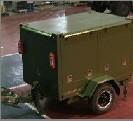 拖車式絕緣油濾油機 1