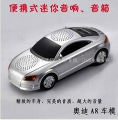 新款车模带显示屏FM/ MP3/MP4/PC