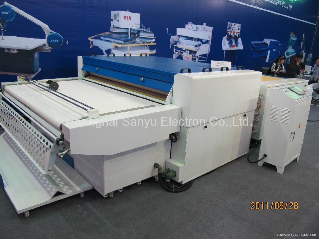 Fabric Shinking & Forming Machine