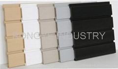 Plastic SLATWALL/PVC SLATWALL