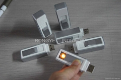 USB WindProof Electronic Cigarette Lighter