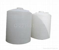 白色耐酸碱塑膠水塔