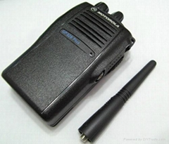 Motorola GP328 Plus UHF 403-470 Mhz 16 Channel Two-Way Radio