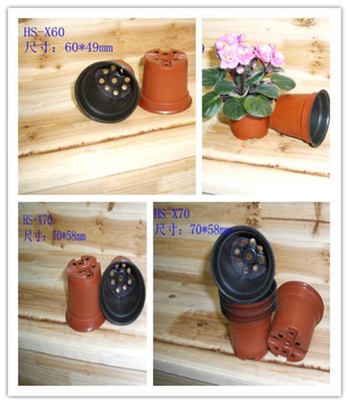 6cm雙色塑料花盆 3