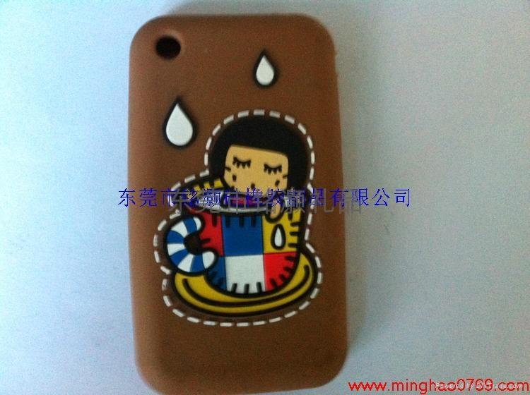 苹果手机维尼熊硅胶外壳 3