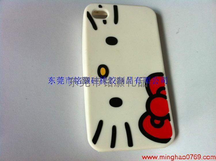 苹果手机维尼熊硅胶外壳 4