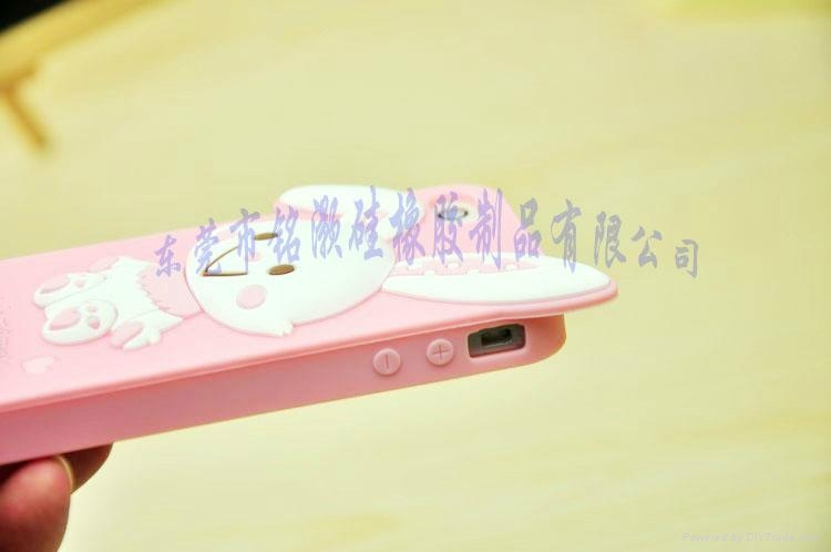 美乐蒂硅胶手机保护套 5