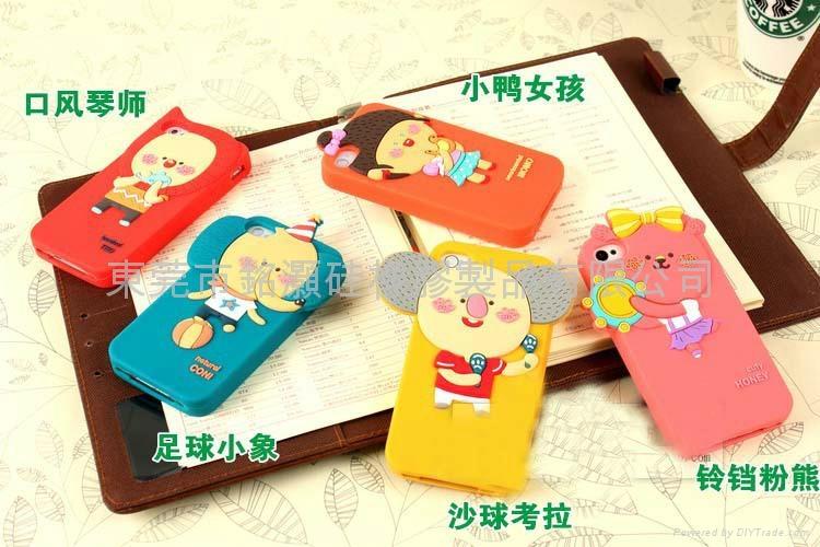 森林家族3代 手机硅胶保护壳 1
