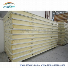 PU panels for cold room storage building
