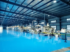 石墨烯导电湿法涂布复合生产线