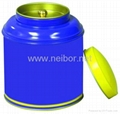 tea tin box tea can tea caddy