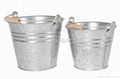 ga  anized steel bucket