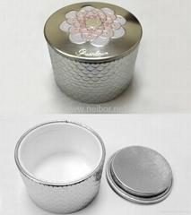 马口铁面霜罐