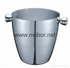 stainless steel ice bucket beer bucket beer cooler