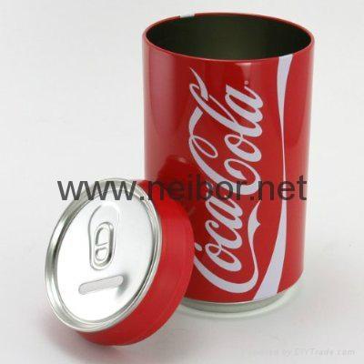 金属存钱罐 2