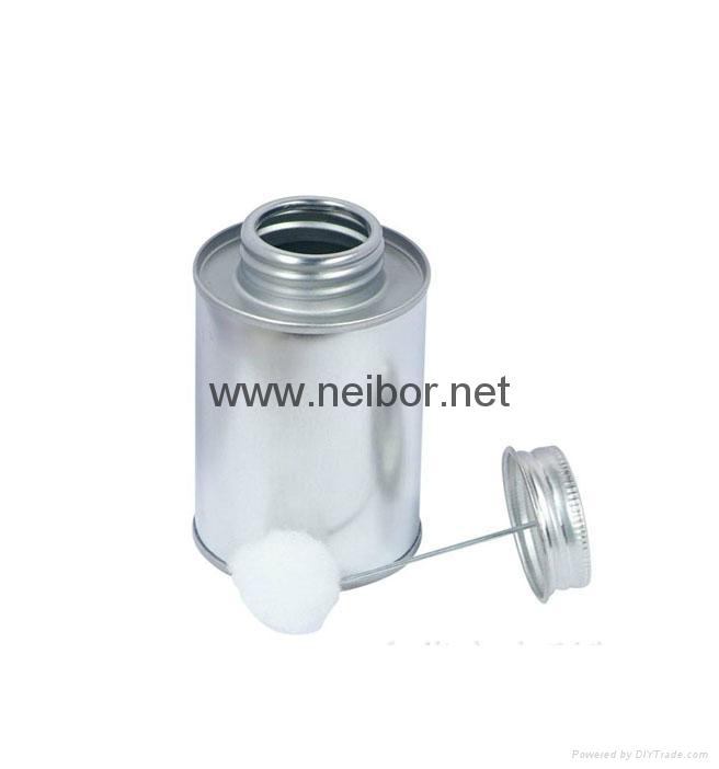 100ML 250ML 500ML 1000ML马口铁胶水罐带毛刷 3