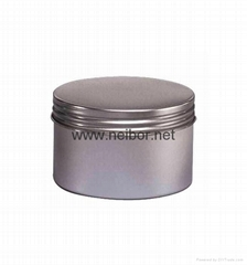 Si  er color deep drawn seamless candle tin jar with spout lid 90ml