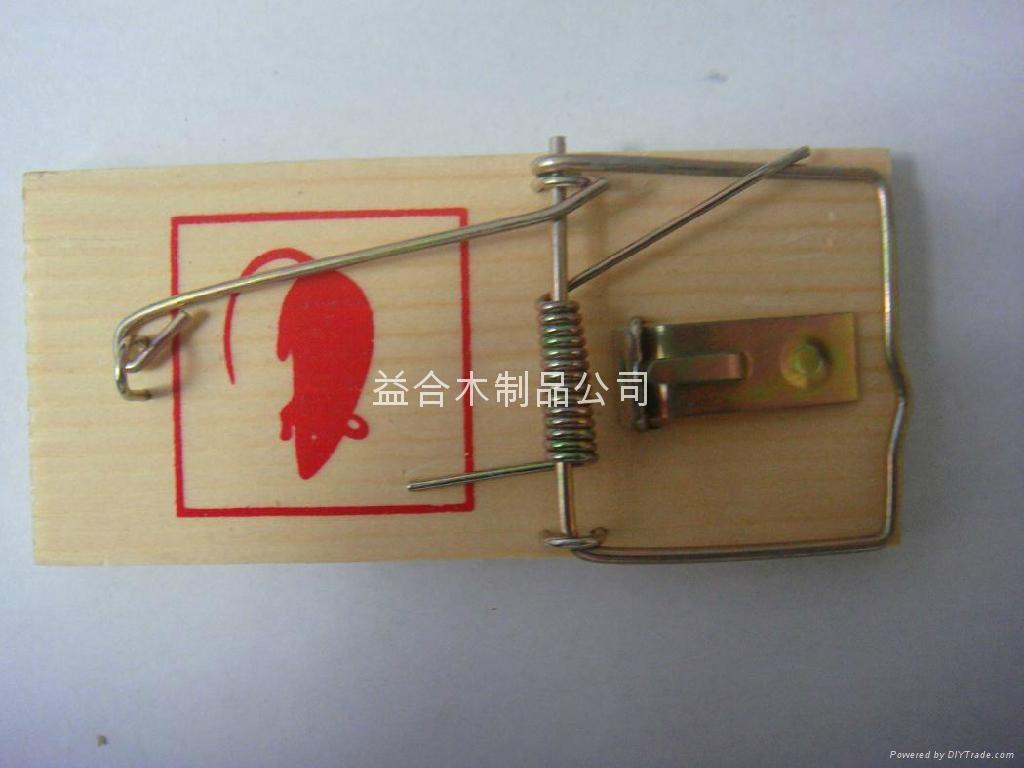 木制常规老鼠夹(小号装) 2