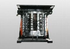 Steel scrap induction smelting elecric furnace