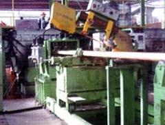 Copper continuous casting machine