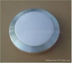 小圓形亞克力罩鋁框燈彩盒包裝室內防水
